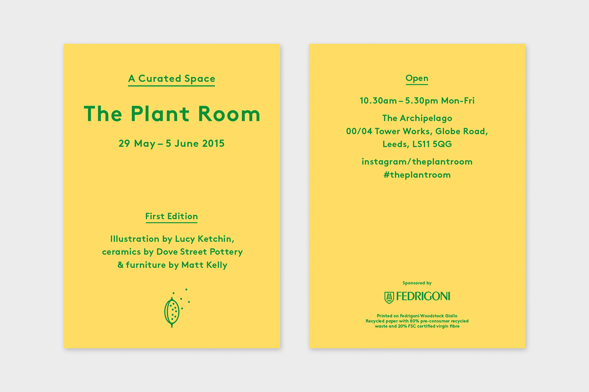 The Plant Room First Edition